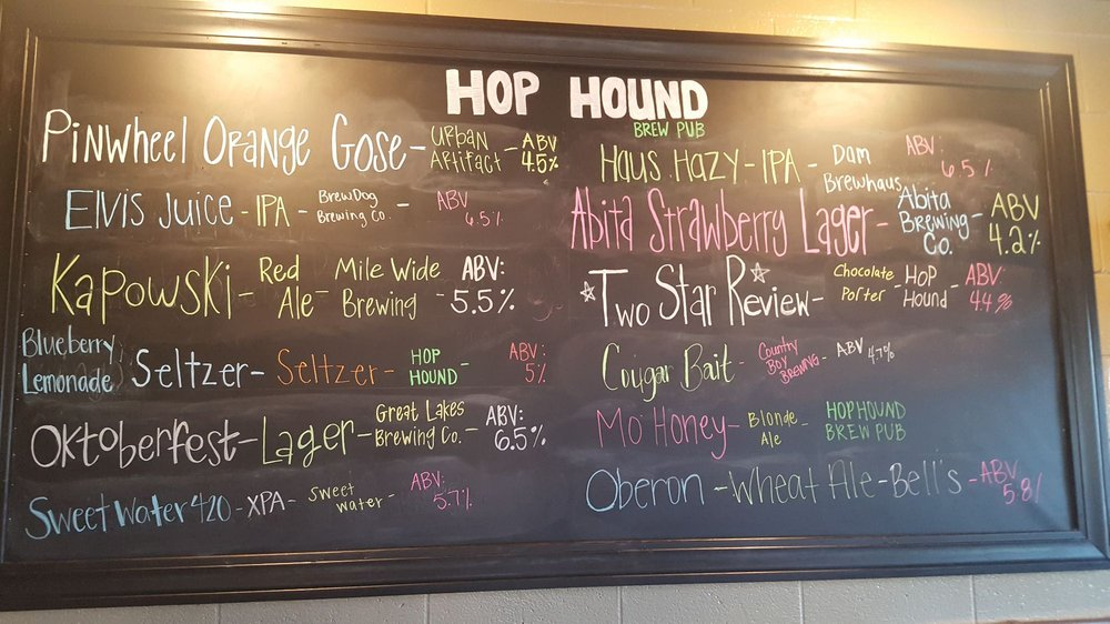 Hop Hound Brew Pub: 317 Chestnut St, Murray, KY