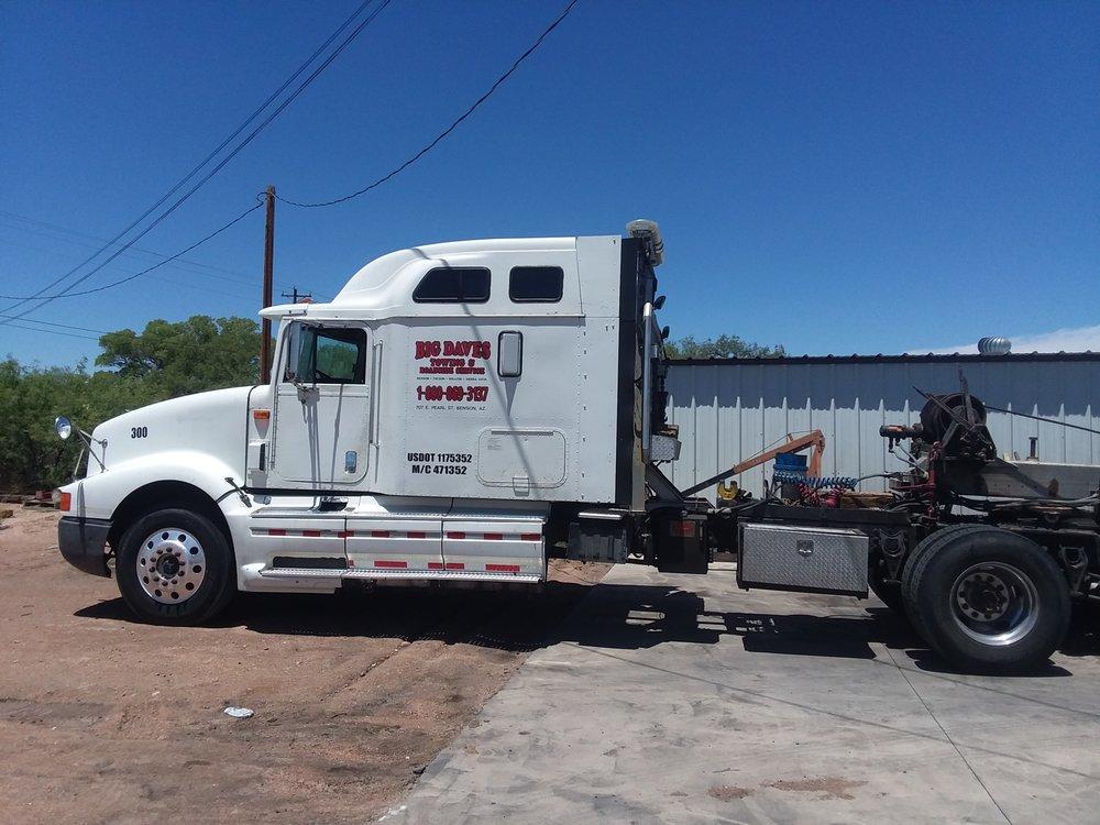 Big Dave's Towing & Roadside Service: 707 E Pearl St, Benson, AZ
