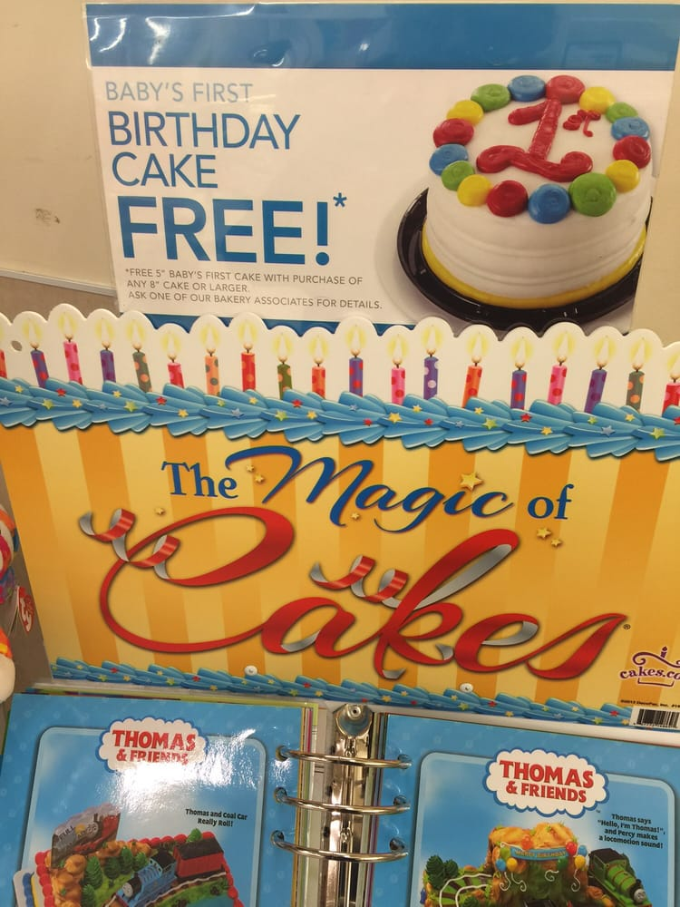 Free Cake For Your Childs First Birthday Yelp