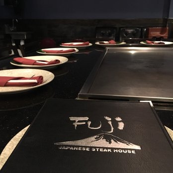 Photo Of Fuji Anese Steak House Eugene Or United States Seating