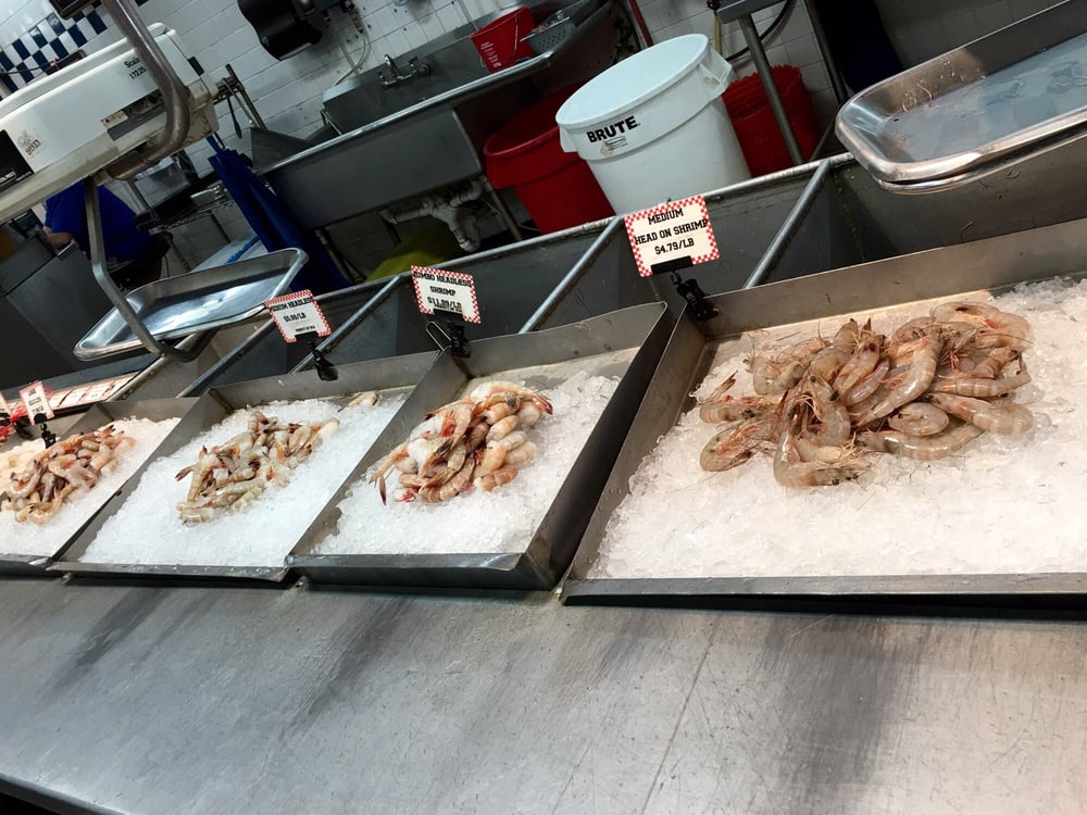 Fresh gulf shrimp yelp for Tonys fish market