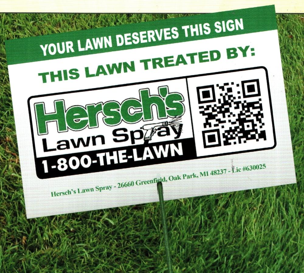Hersch's Lawn Spray