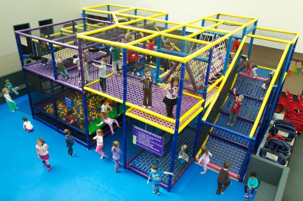 Imaginarium Indoor Climbing Play Structure - Yelp