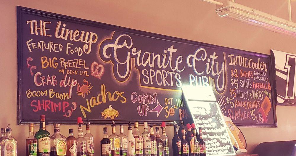 Granite City Sports Pub: 237 N Main St, Mount Airy, NC