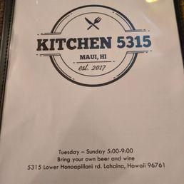 photo of kitchen 5315 lahaina hi united states