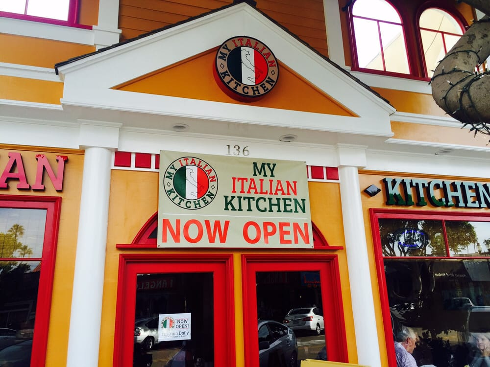 The Front of My Italian Kitchen. - Yelp