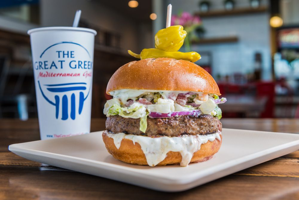 The Great Greek Mediterranean Grill: 3750 Plano Prkwy, The Colony, TX
