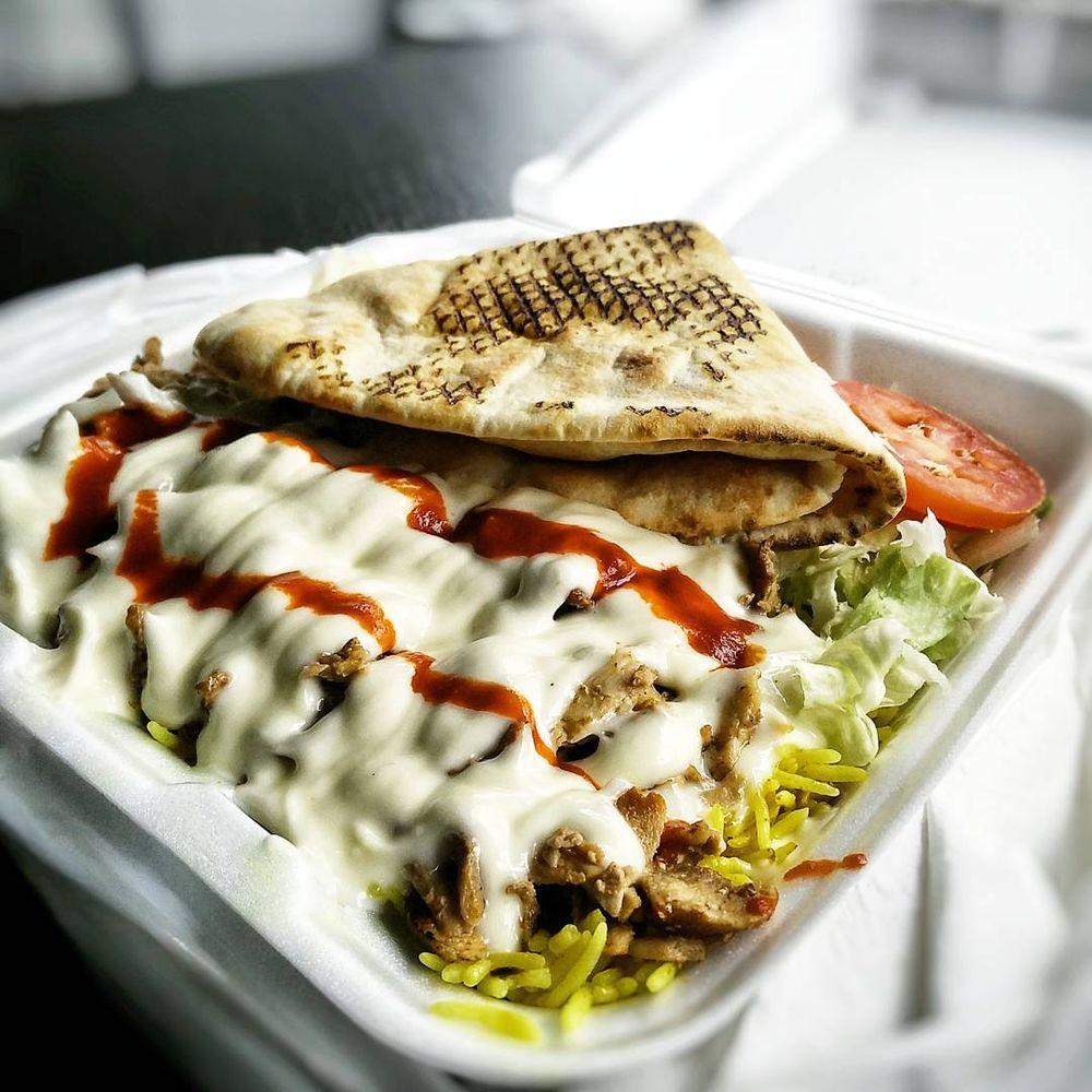 The best shawarma of Alushta, and maybe the whole Crimea