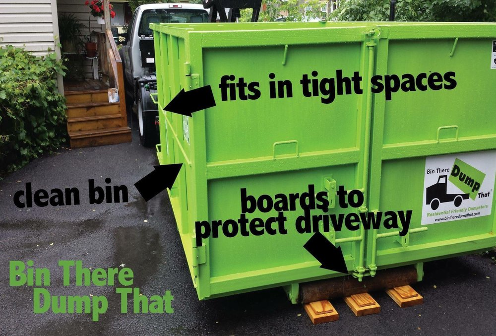 Bin There Dump That Dumpster Rental: 10668 General Ave, Jacksonville, FL