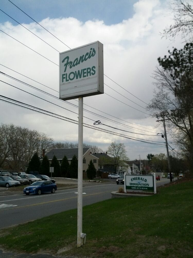 Francis Flowers, Inc.: 78 Prospect St, Milford, MA