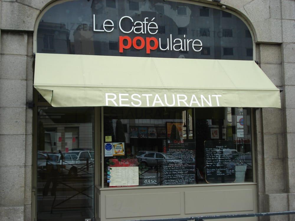 Le caf populaire 30 reviews french 5 quai lamennais for Restaurant o 23 rennes