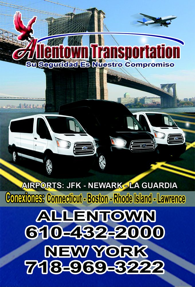 Allentown Transportation: 1544 Hamilton St, Allentown, PA
