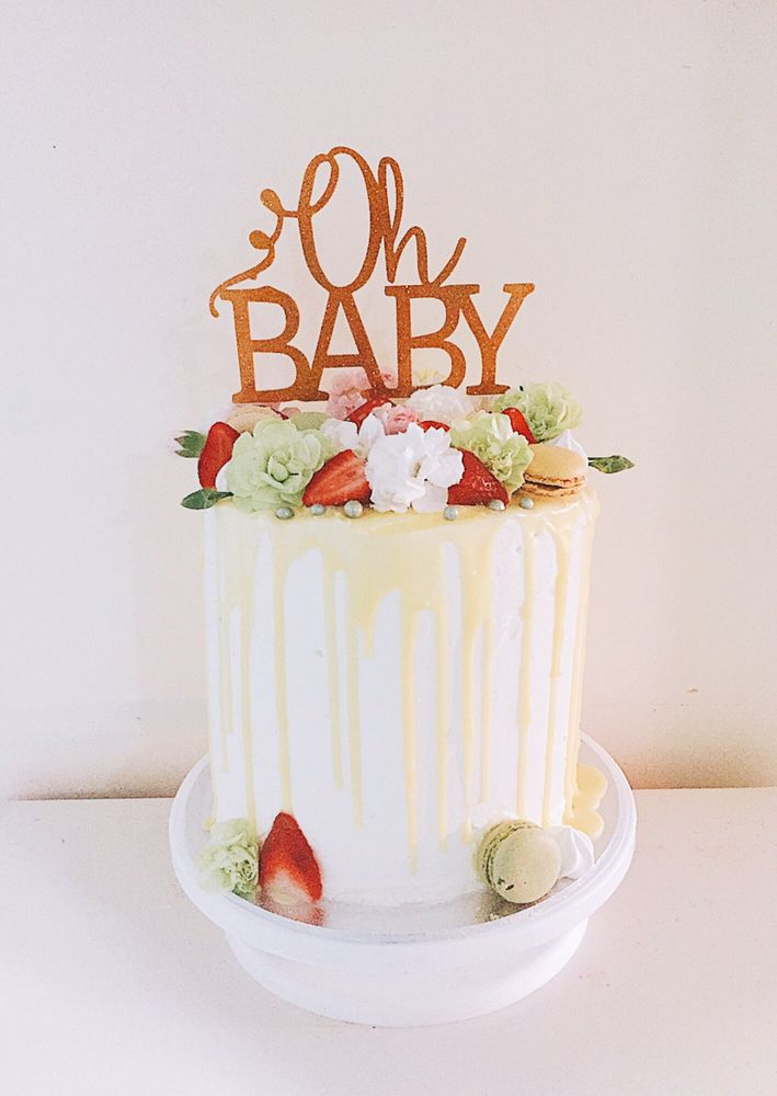 Photo Of Sweet Licious Cake And Cupcakes   Runcorn Queensland, Australia.  Baby Shower Drip