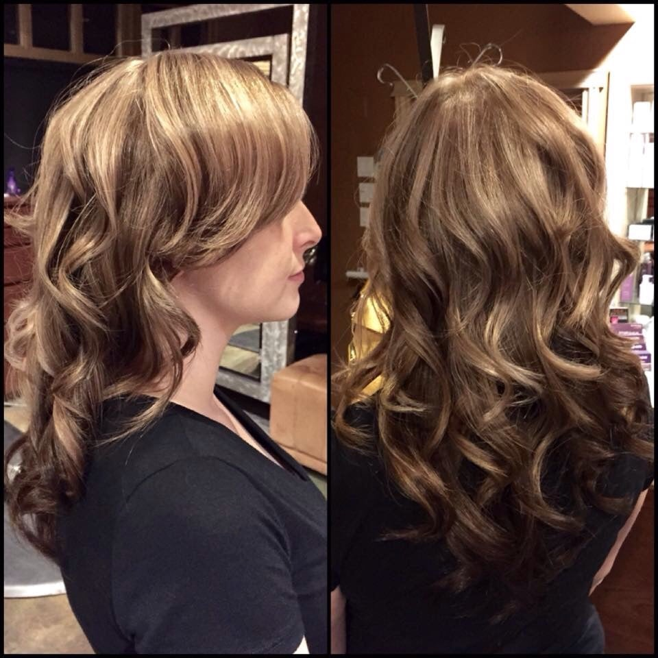 Dimensional Highlights And Lowlights With A Rich Brown Underneath
