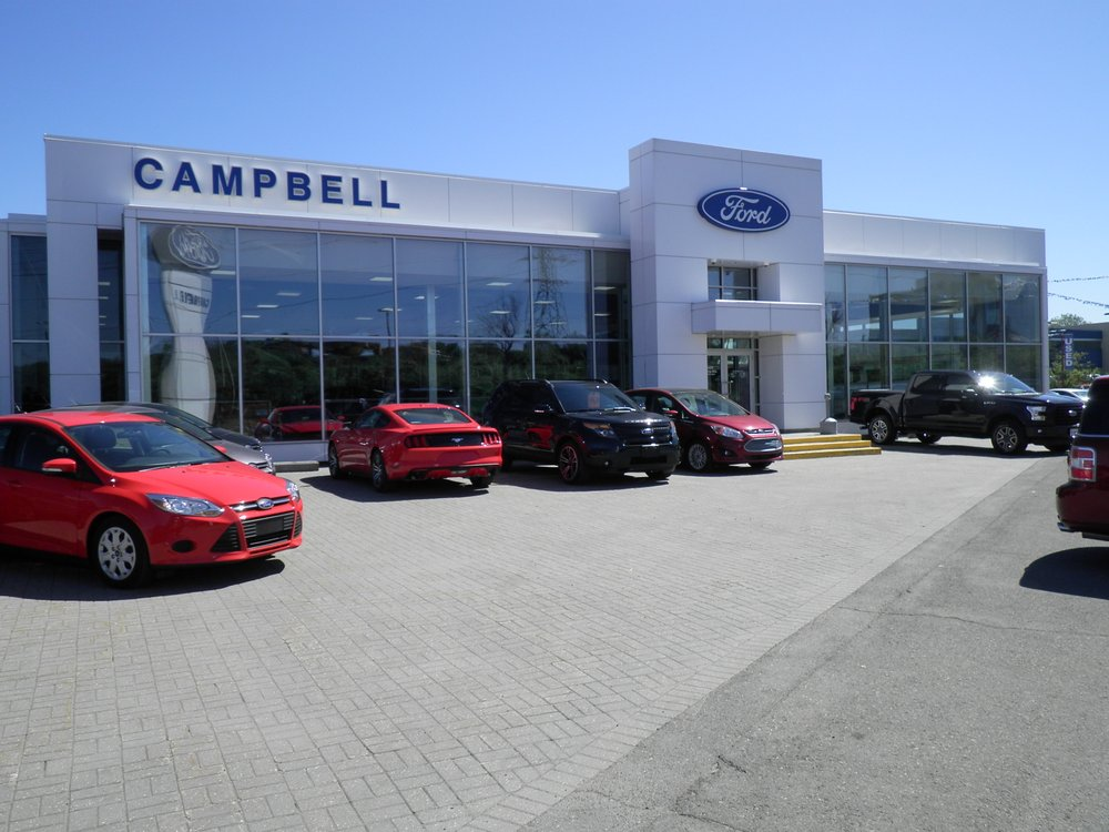 Campbell Ford Garages 1500 Carling Avenue Ottawa On