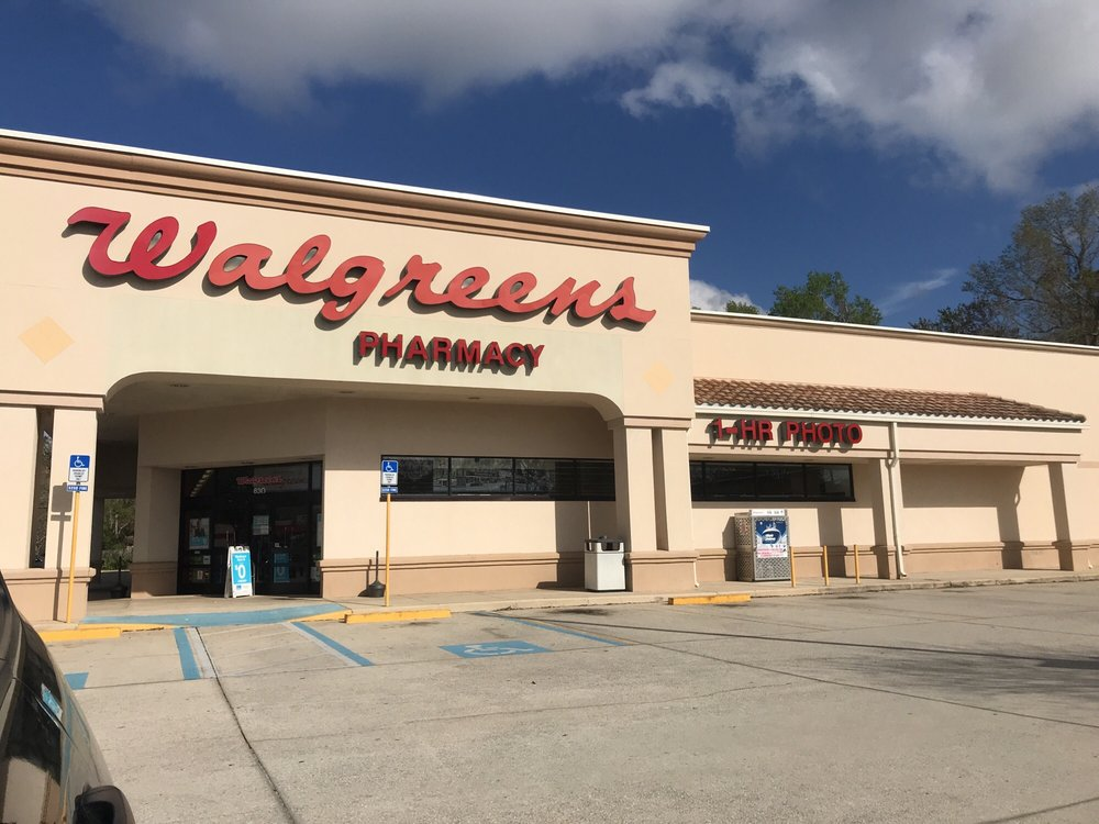 Walgreens: 630 Blanding Blvd, Orange Park, FL