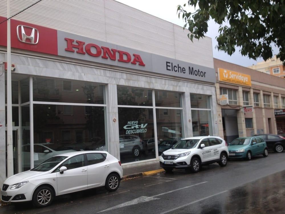 Honda car dealers carrer sor josefa alcorta 41 elche for Honda dealer phone number