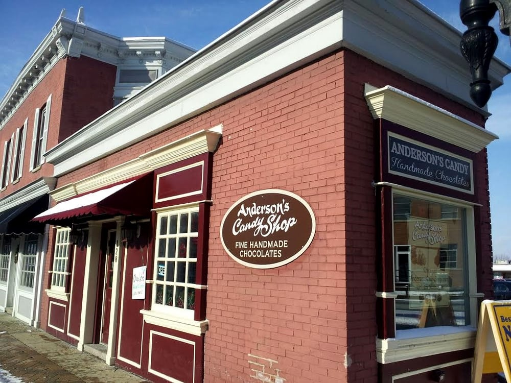 Anderson's Candy Shop: 128 E Main St, Barrington, IL