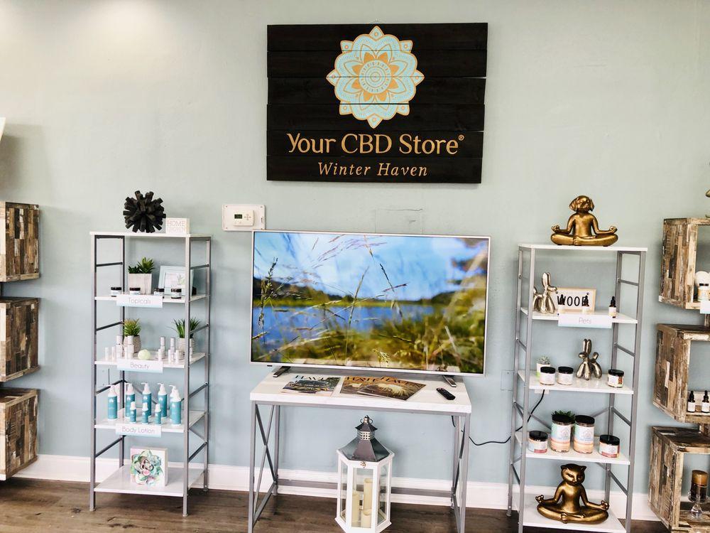 Your CBD Store - Winter Haven: 5692 Cypress Gardens Blvd, Winter Haven, FL