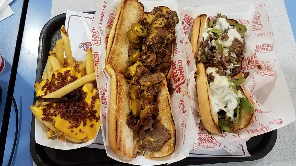 Charleys Philly Steaks: 240 Fitzgerald Blvd, Edwards AFB, CA