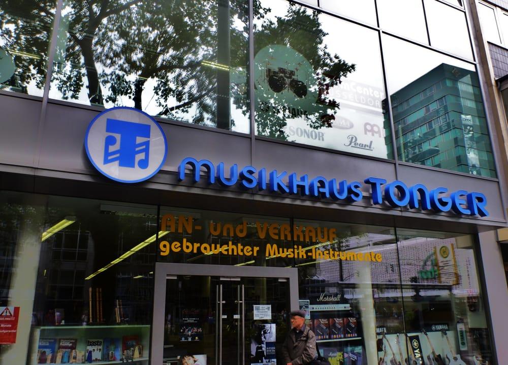 Musikhaus tonger chiuso strumenti musicali e for Musik hause