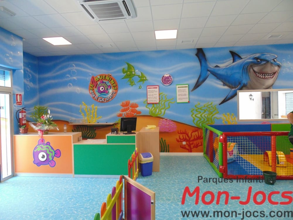 Jard n infantil y decoraci n parques infantiles mon jocs for Decoracion parques
