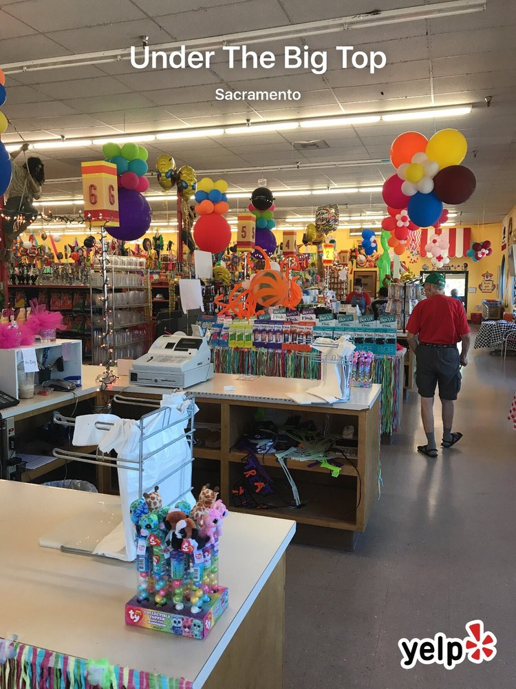 Under The Big Top Party Store 30 Photos 39 Reviews Toy Stores