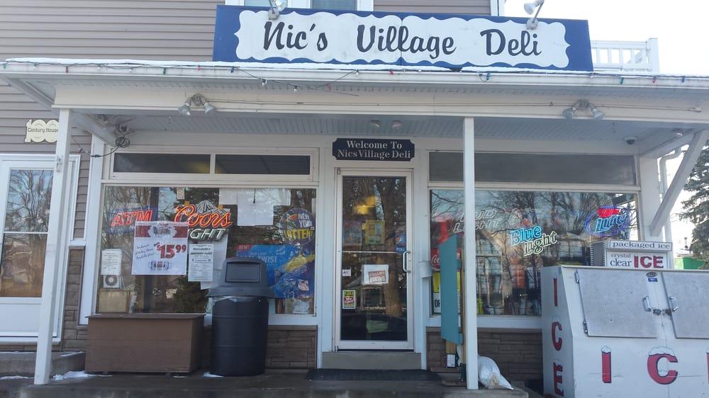 Nic's Village Deli: 83 John St, Akron, NY