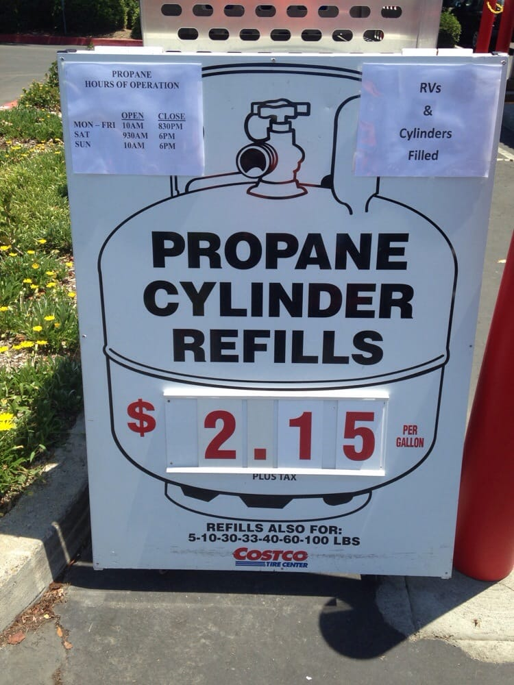 Propane filling station hours & current price. - Yelp