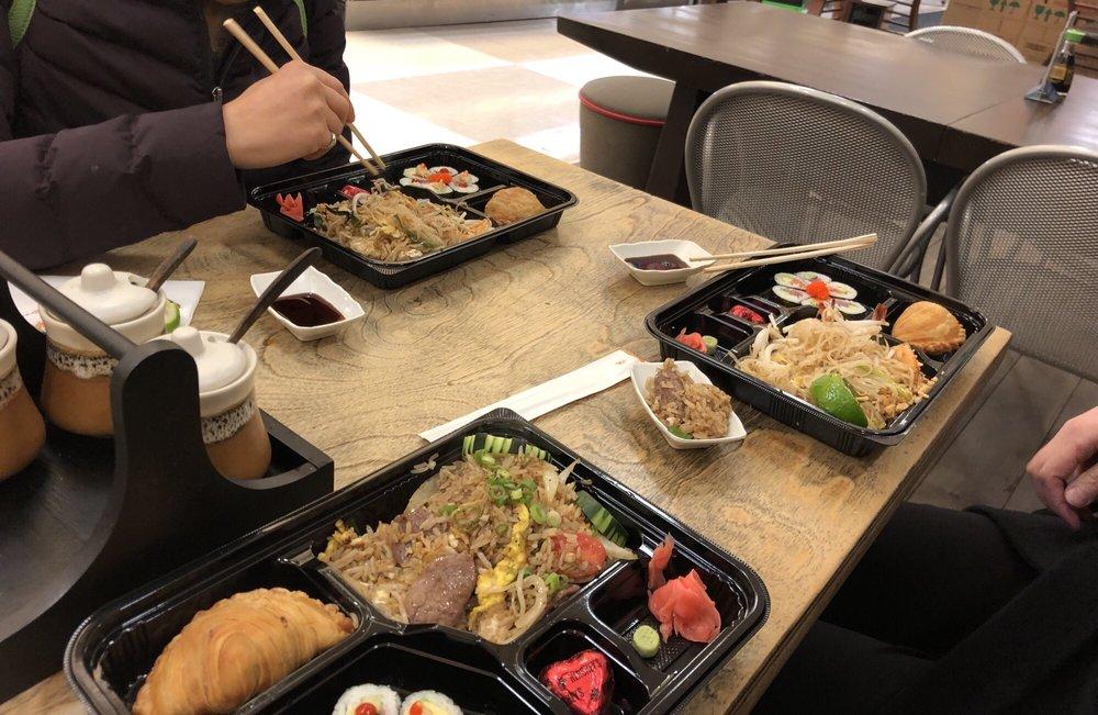 Lil' Bowl Thai & Japanese Fusion: 9540 Liberia Ave, Manassas, VA
