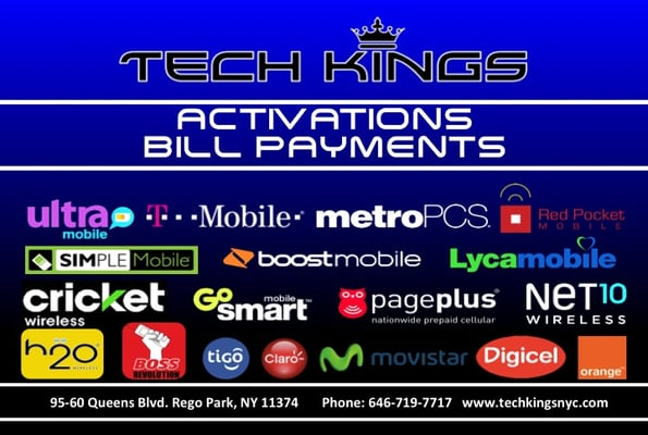 Tech Kings Cell Phone Repair 9560 Queens Blvd Rego Park, NY