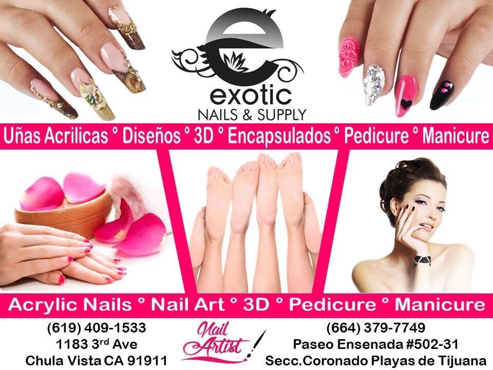 Exotic Nails - 134 Photos & 22 Reviews - Nail Salons - 1183 3rd Ave ...