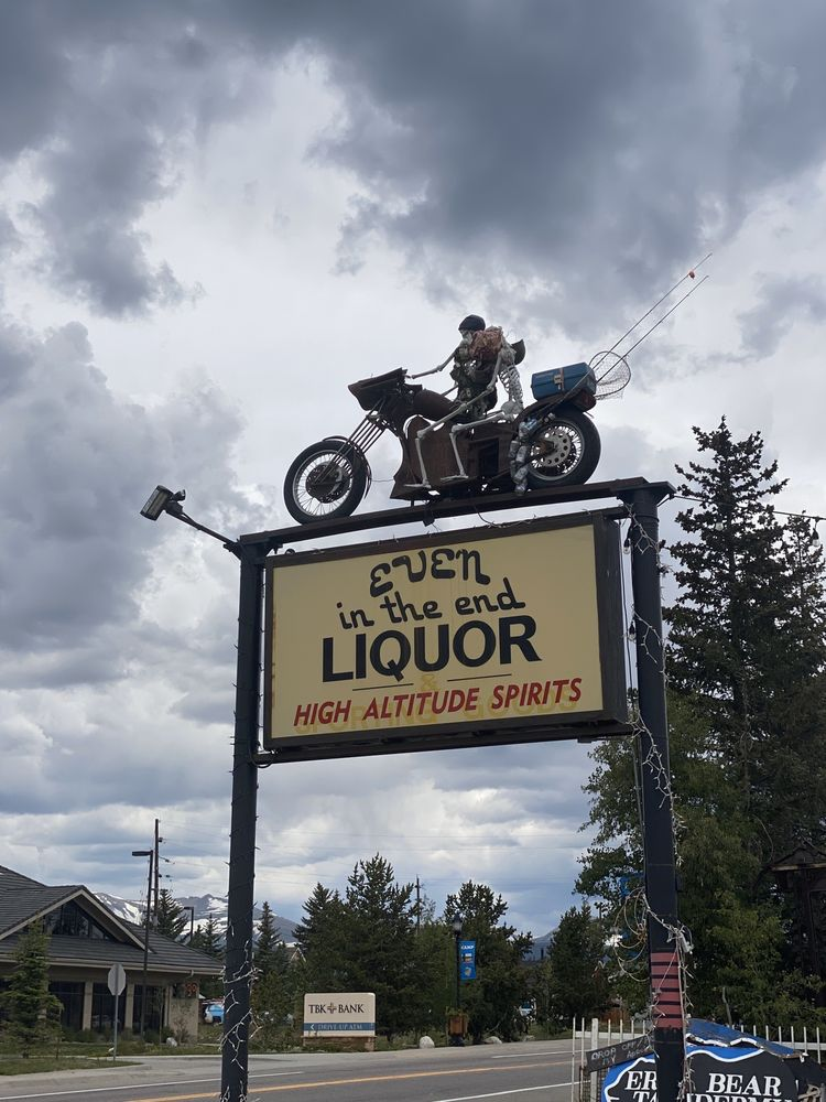 Even In the End Liquors: 889 Steinfelt Pkwy, Fairplay, CO