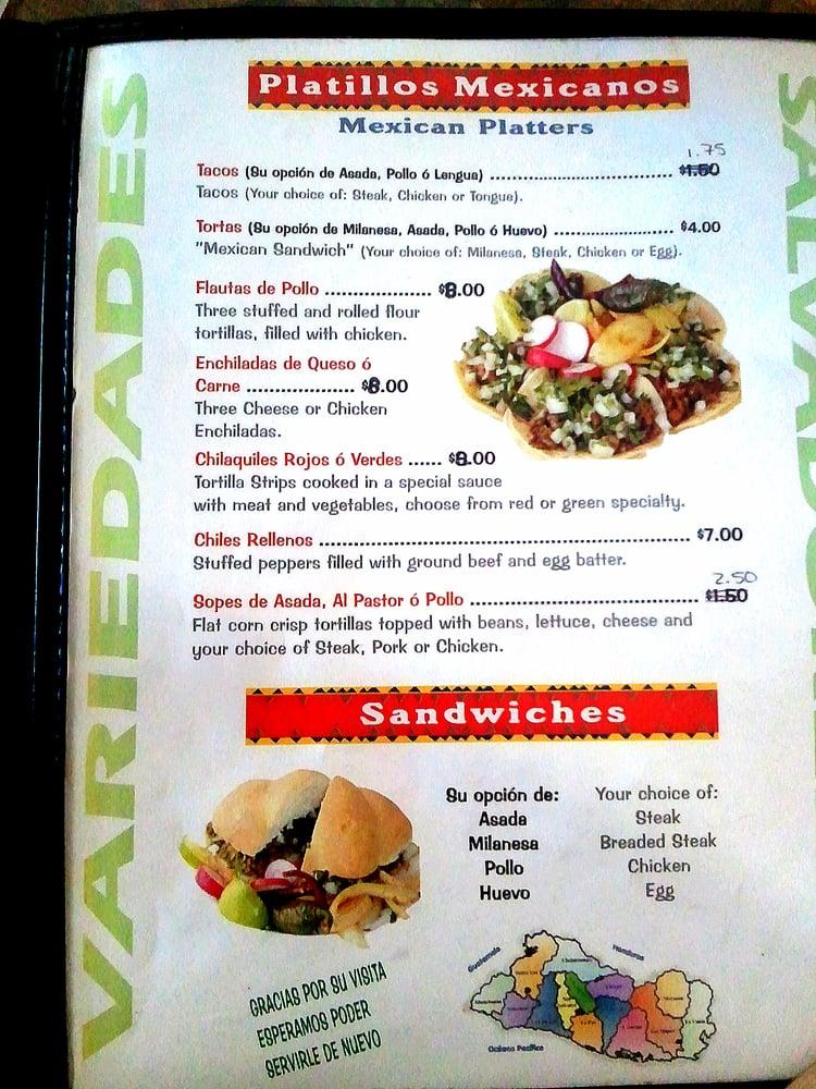 Photo Of Restaurant Y Variedades Salvadorenas