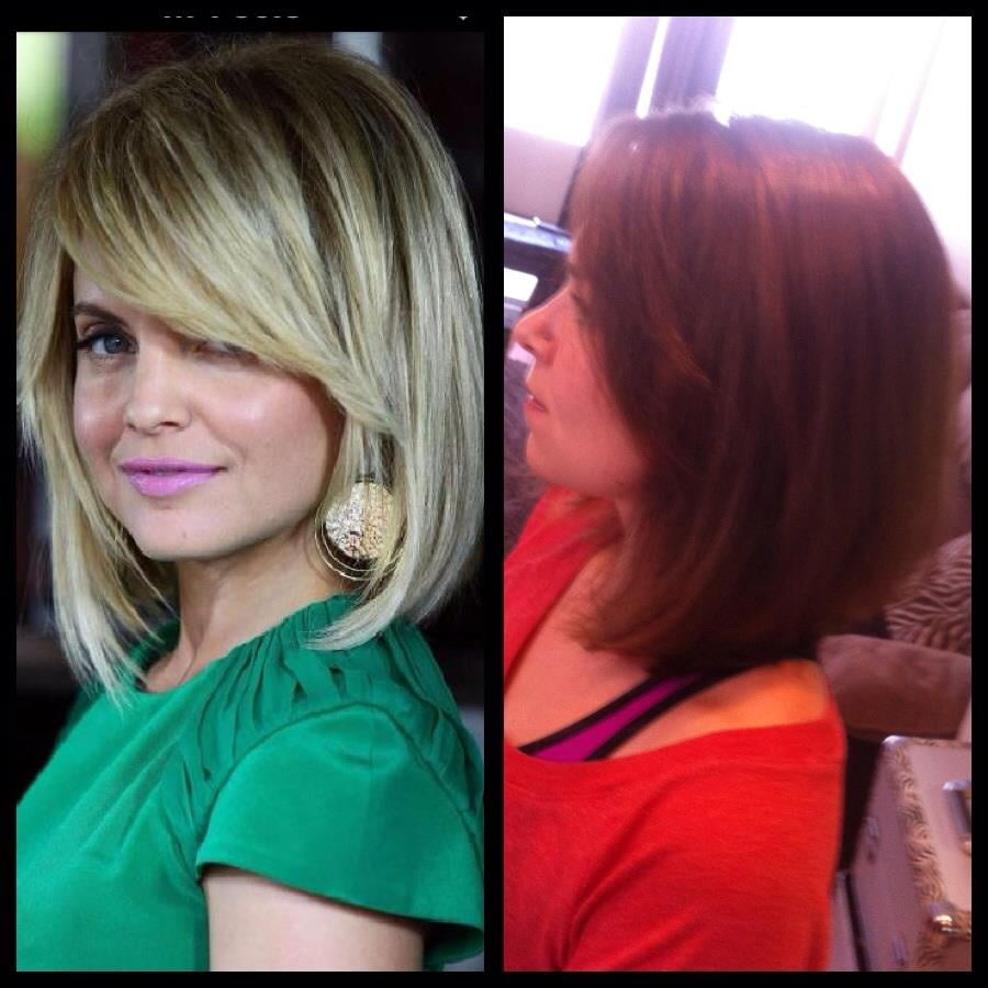 A Line Haircut Side Bangs And Style Yelp