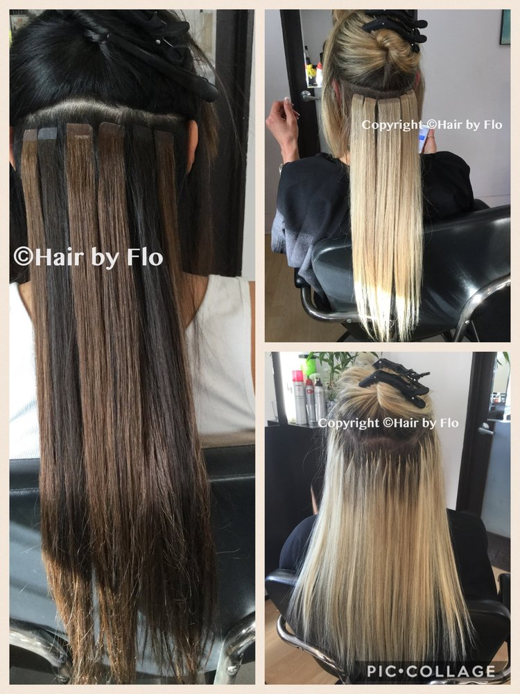 Hair Extensions Provided By Flo Keratin Tips Cylinders Wefts And