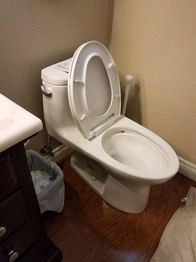 New Toto 1.29gpf toilet. ADA height and elongated bowl! - Yelp