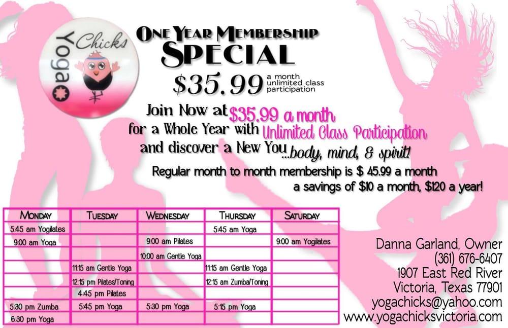 Social Spots from Yoga Chicks