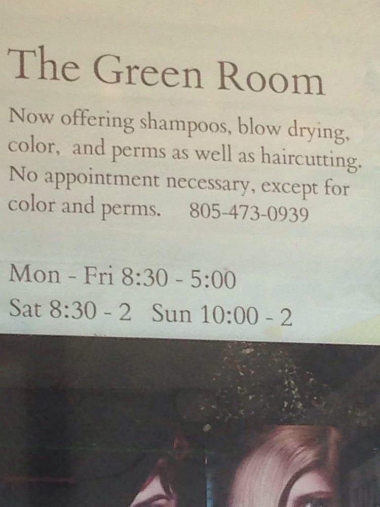 The Green Room: 110 W Branch St, Arroyo Grande, CA