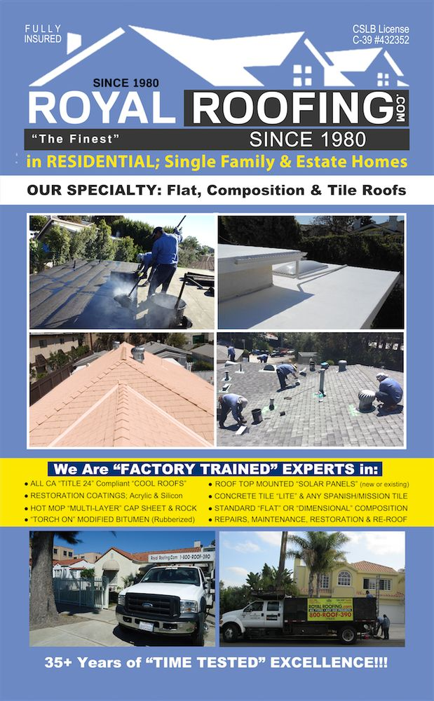 28c58f31 Royal Roofing Company - 143 Photos & 63 Reviews - Roofing - 6831 Suva St,  Los Angeles, CA - Phone Number - Yelp
