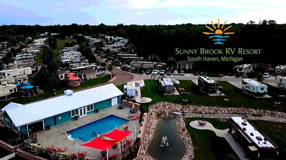 Sunny Brook RV Resort: 68300 County Road 388, South Haven, MI