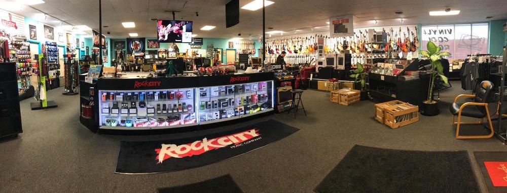 Rock City Music Company: 33425 5 Mile Rd, Livonia, MI