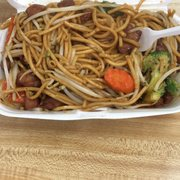 Photo of Toyo Bowl - San Pedro, CA, United States. Chicken Chow Mein (IG: @EatStatus)