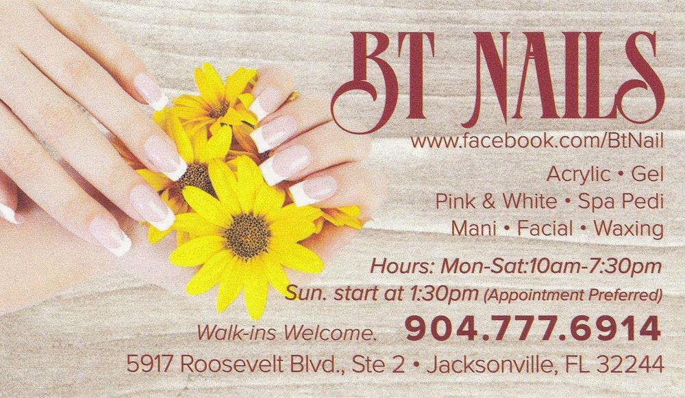Bt Nails: 5917 Roosevelt Blvd, Jacksonville, FL