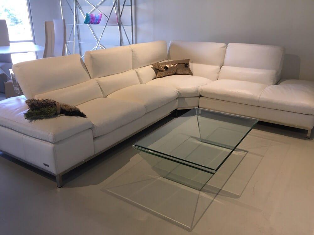 True Simple Handmade Italian Leather Sofa Sectional Only At Euro Impressive Euro Modern Furniture