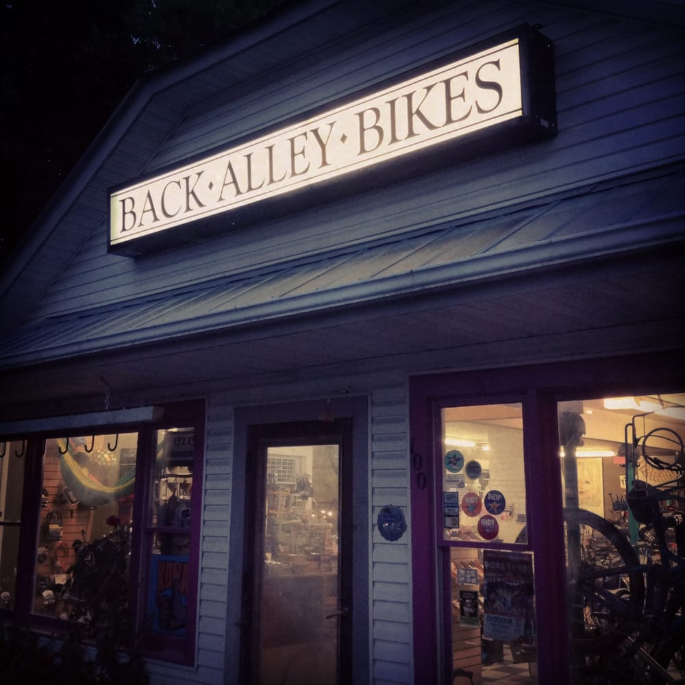 Back Alley Bikes: 100 Boyd St, Carrboro, NC