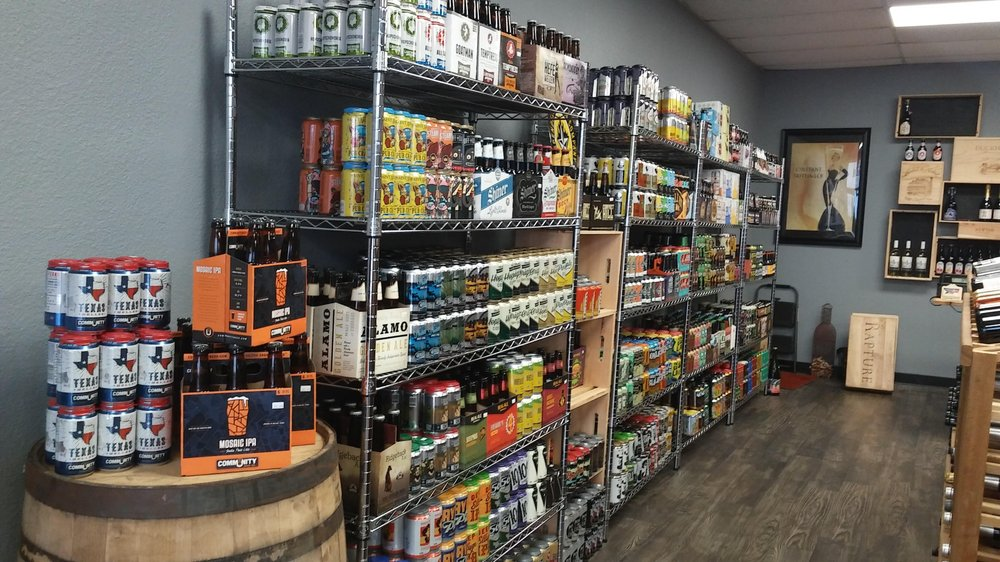 Bubble & Squeak Craft Beer and Wine: 425 Pinson Rd, Forney, TX
