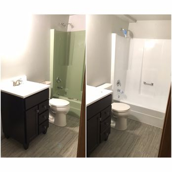 Famous Average Price Of Replacing A Bathroom Small Average Cost Of Bath Fitters Clean Beautiful Bathrooms With Shower Curtains Fiberglass Bathtub Bottom Crack Repair Inlays Young Gray Bathroom Vanity Lowes DarkBuild Your Own Bathroom Vanity Spray That Tub   Bathtub Refinishing   25 Photos \u0026amp; 15 Reviews ..