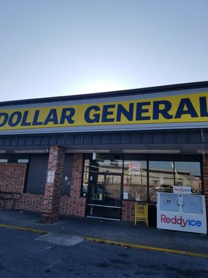 P O Of Dollar General Store Montgomery Al United States The Front