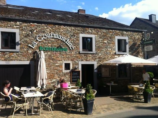 La gourmandine ferm belge rue de saint hubert 16 redu luxembourg restaurant avis - Restaurant rue des bains luxembourg ...